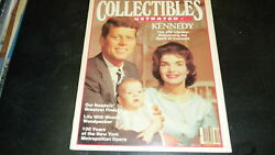 Collectibles Illustrated Kennedy Family Dec 1983 0302e