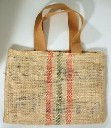 ECO Recycled COFFEE Grocery SHOPPING TOTE 20x14quot; Sisal2 $19.50