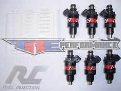 Rc 42lb Flow Matched Fuel Injectors Chevy Ford Gmc Bosch New 440cc