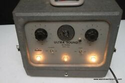 Ra Fisher Electrotherapy Products Ultrasound Model 2500 Vintage