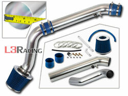 Blue Cold Air Intake System+dry Filter For Honda 96-98 Civic Ex Hx Si 1.6l Vtec
