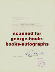 Raymond Chandlerletter- Autograph - Changes Agency- 1950
