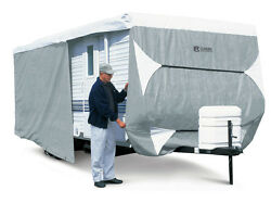 Classic Accessories Polypro Iii Deluxe Travel Trailer Camper Cover 24and039 - 27and039 L