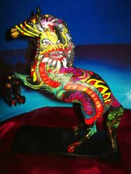 Custom Trail Of Painted Ponies Dragon Heart Chinese Art Horse By J. Leigh
