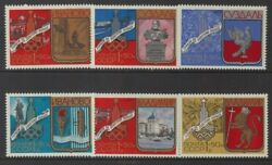RUSSIA 1977-1980 OLYMPICS TOURISM SET 6 (1st ISSUE) UHM (ID:493/D12485)