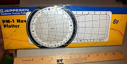 Pn-1 Navigation Plotter By Jeppesen And Booklet New In Unopened Package Nice