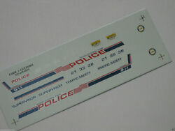 Code 3 1/43 Police Decals - Middletown Nj New Jersey