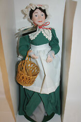 Department 56 Christmas Carol Doll Heritage Village Collection Mrs.cratchit