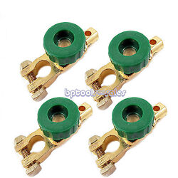 4-pc Universal Battery Terminal Disconnect Auto Batterry Switch Automotive New