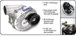 Ati Procharger P-1sc Supercharger Head Unit Only Satin Finish Street Race Blower