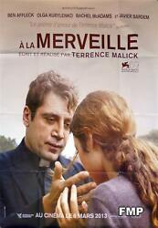 A La Merveille - To The Wonder - Terrence Malick - Style A Advance French Poster