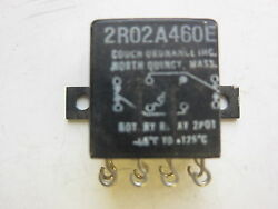 Couch Ordnance 2r02a460e 8-pin Relay, New