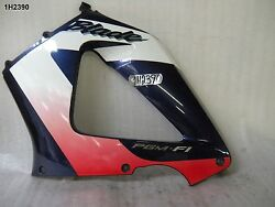 Honda Cbr 900rr 00 Lh Mid Panel Genuine Purple Scratched In Decal Lot1 1h2390