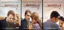 A La Merveille - To The Wonder - Terrence Malick - Advance Set French Posters