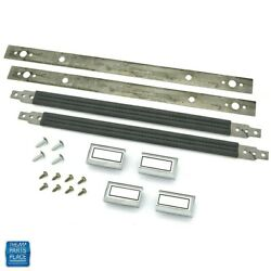 1978-1988 Gm G Body Door Panel Interior Pull Straps Kit 16 Gray Discontinued