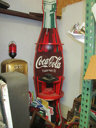 1996 Coke Cola Olympic Store Display Sign Rack