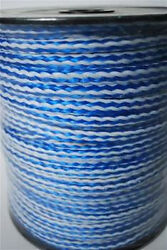 Braided Nylon/polypro Pump Safety Rope Cable 1/4 X 500 Feet