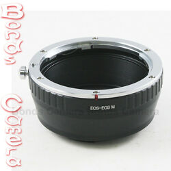 Canon Eos Mount Ef Ef-s Lens To Canon Eos M Ef-m Mount Mirrorless Camera Adapter