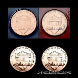 2013 P+d Lincoln Shield Penny Set Pd From Mint Set And Bank Roll  No S Proof