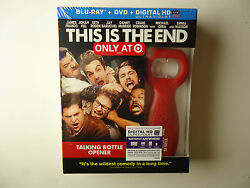This Is The End Blu-ray Dvd Uv Digital Copy 2013 New Target W/bottle Opener