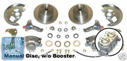 1968-74 Chevrolet Nova Manual Disc Brake Conversion Without Booster - New