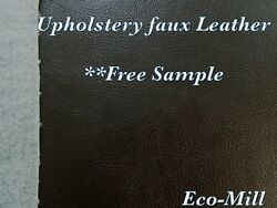 Vinyl Paloma Black Upholstery Fabric Soft Fake Leather Furniture Fabric 54quot; Wide