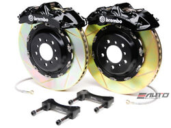 Brembo Front GT Brake 6pot Caliper Black 380x32 Slot Disc for G35 350Z Fairlady