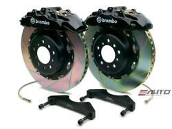 Brembo Front GT Brake 8pot Caliper Black 380x34 Slot for QX56 ARMADA TITAN 04-07
