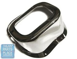 66-67 Chevrolet Chevelle / El Camino Chrome Shift Hump For Cars Without Console