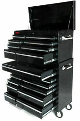 Professional Tool Chest Mechanics Roll Cab Top Box With Us Ball Bearing Slides