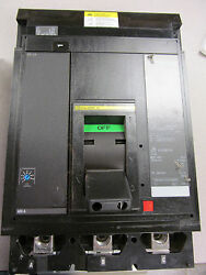 Square D Powerpact Mja36400 I Line Circuit Breaker 400 Amp 600 V W/instantaneous
