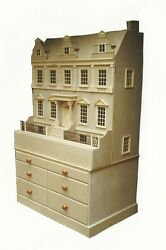 Doll House 1/12 Scale The City House Kit Large Not Including Base By Dhd