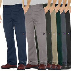 Work Pants Mens Loose Fit Double Knee Cell Pocket Pant 85283 Colors