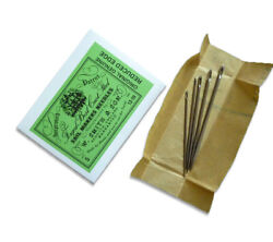 Sailmaker Needles 5pk Wm Smith And Son No 13 To 19 Steel Sewing Needle Packet