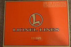 Lionel Lines Train Set 1113ws 6-11910 Used In-box + Lots O Extras