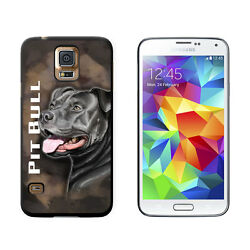 Pit Bull Blue Nose Pitbull American Staffordshire Terrier Dog Case for Galaxy S5