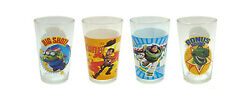 New Cute Disney Toy Story Adult Collectible 8 Oz. Juice Glasses Set Of 4 Nib