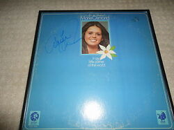 Marie Osmond Signed And Framed In My Little Corner Of The World Record Coa Donny