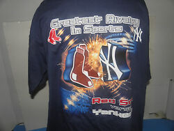 Mlb Red Sox-yankees- Greatest Rivalry In Sports T-shirt Size Xl Nwot