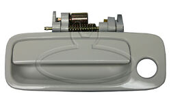 New Super White Exterior Outside Door Handle Lh Front / For 1997-01 Toyota Camry
