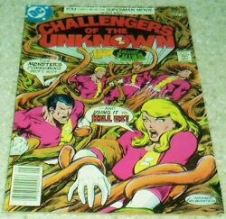 Challangers Of The Unknown 82, Vf 8.0 1977 Swamp Thing 50 Off Guide