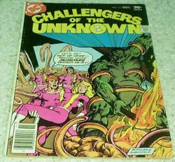 Challangers Of The Unknown 83, Fn- 5.5 1977 Giffen,swamp Thing 50 Off Guide