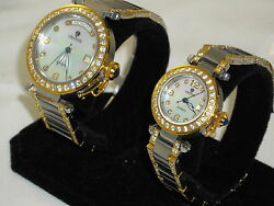 Croton Gorgeous W/ Swiss Eta Automatic Mans And Womens New Wow What A Find