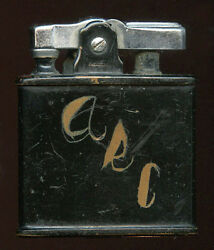 Great Wwii Ronson Gi Lighter Named To American Red Cross Arc Nurse Served Eto
