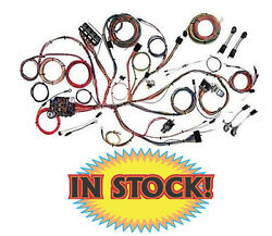 American Autowire 510125 - 1964-66 Ford Mustang Classic Update Wiring Harness