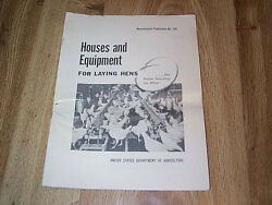 Houses And Equipment For Laying Hens - Us Dept Of Agriculture 1956 Chicken Poultry