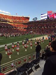 2 Awesome San Francisco 49ers SBL Sec 143 Row 5 (actual 2nd Row) Seats!!!!