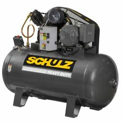 Schulz V-series 5-hp 80-gallon Two-stage Air Compressor 230-v 1-phase