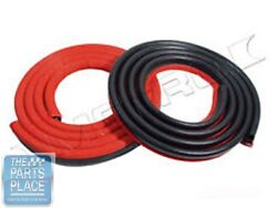 1962-66 Mopar A And B Body Door Weatherstrip Seals Pair - Lm23-gred