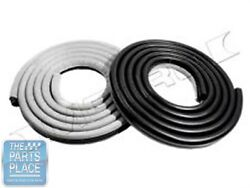 1962-66 Mopar A And B Body Door Weatherstrip Seals Pair - Lm23hgry